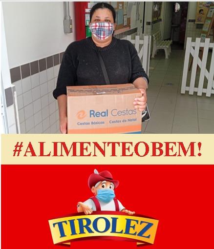 #ALIMENTEOBEM! TIROLEZ